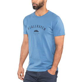 Fjällräven Trekking Equipment T-Shirt Men blue ridge